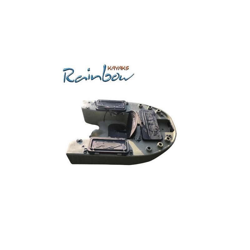 Kayak da pesca Rainbow HARD BELLY Versione BASE