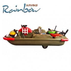 Kayak da pesca Rainbow H2O FISHING