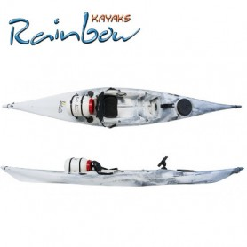 Kayak da pesca Rainbow VULCANO 4.25 EXPEDITION FISHING