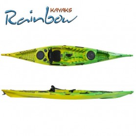 Kayak da pesca Rainbow VULCANO 4.60 EXPEDITION FISHING