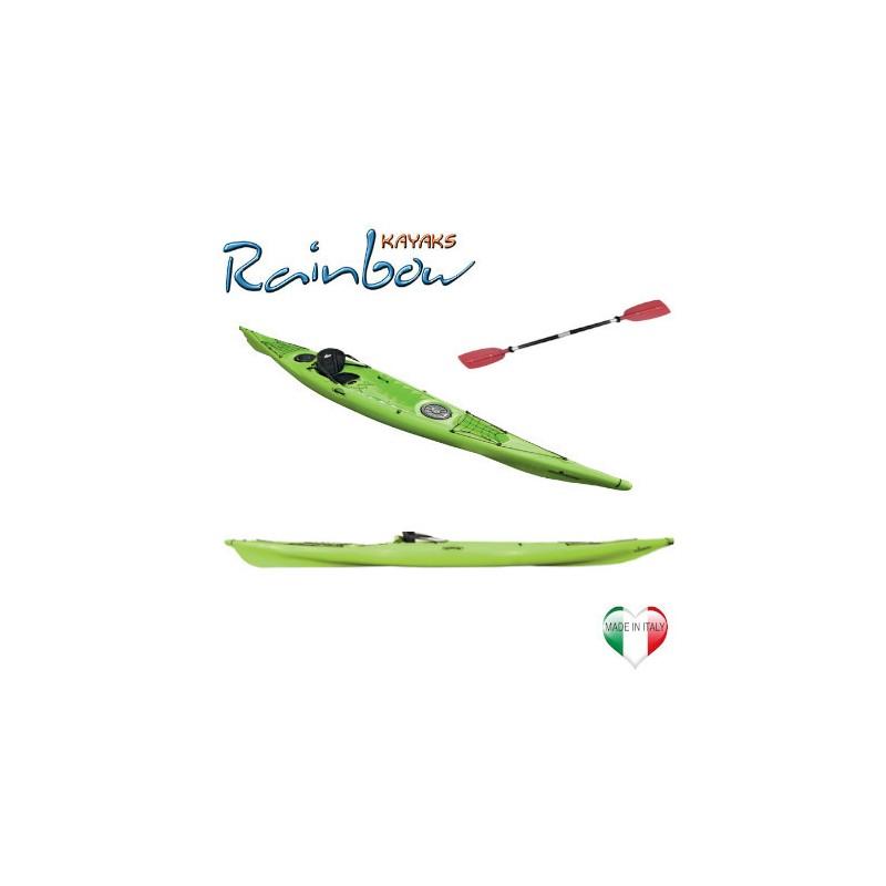 Kayak Rainbow VULCANO 4.60 EXPEDITION + pagaia