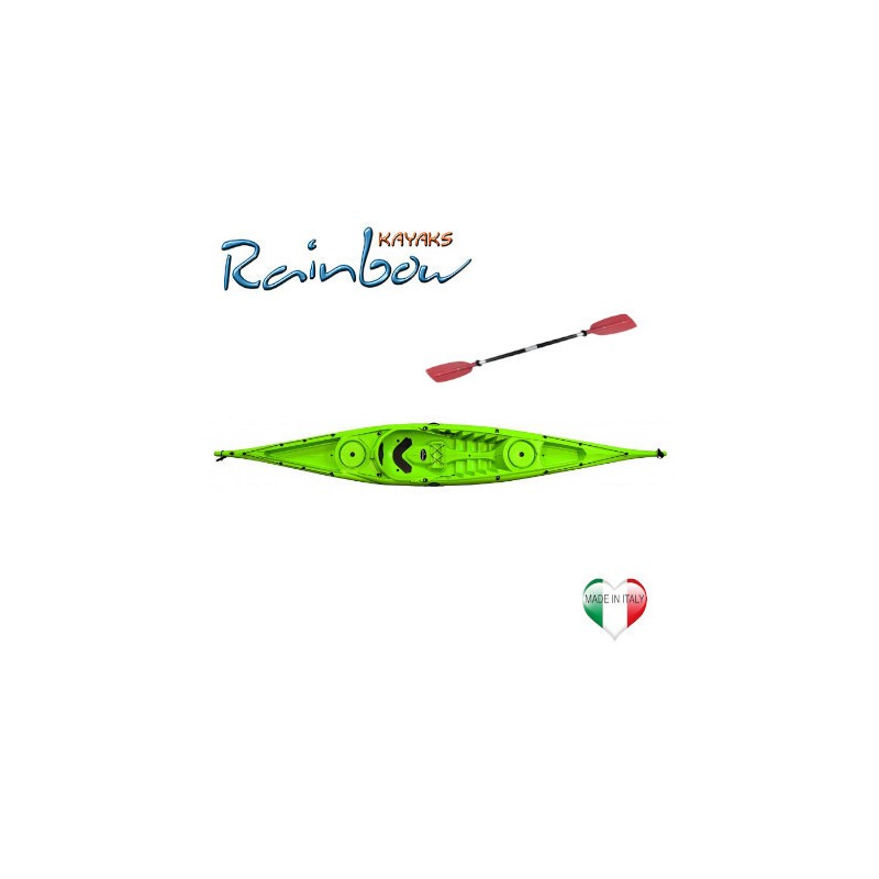 Kayak Rainbow VULCANO 4.60 BASE + pagaia