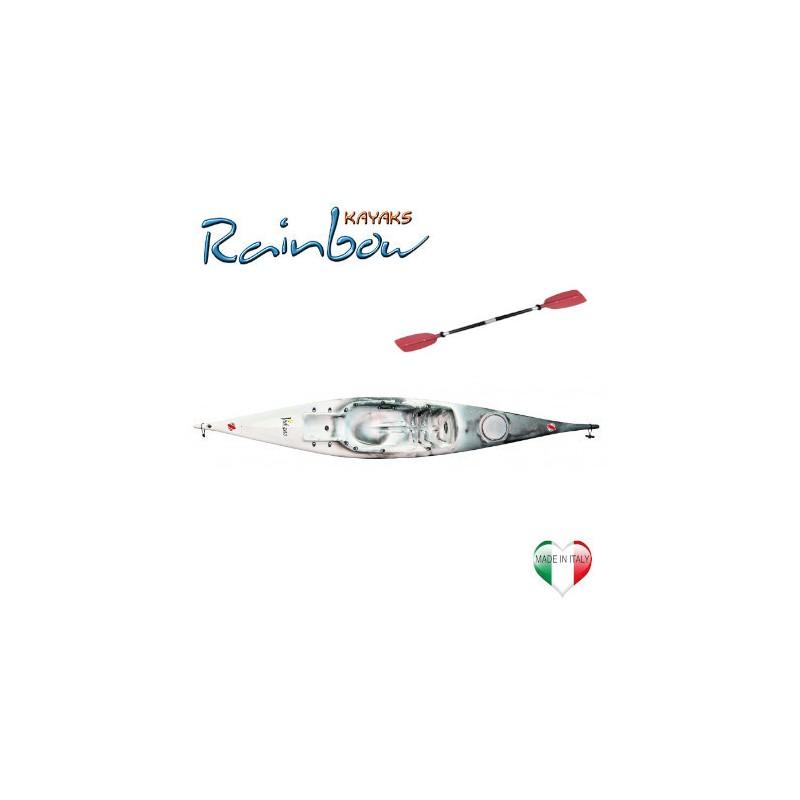 Kayak Rainbow VULCANO 4.25 BASE + pagaia