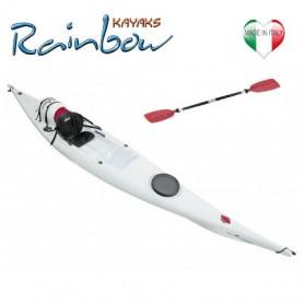 Kayak Rainbow VULCANO 4.25 EXPEDITION + pagaia