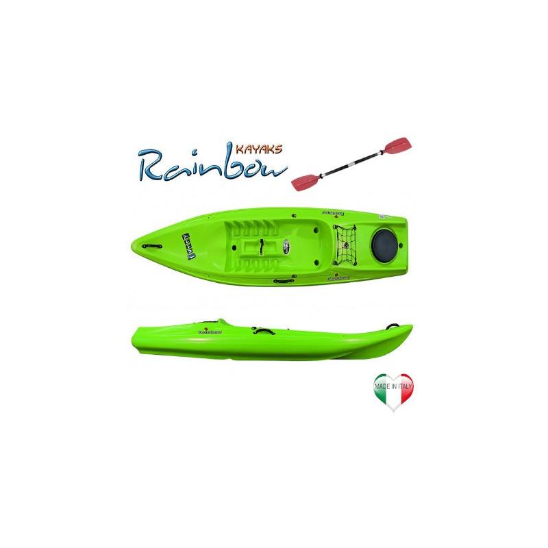 Kayak Rainbow FUNNY NEW EXPEDITION + pagaia