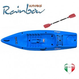 Kayak Rainbow FUNNY NEW BASE + pagaia