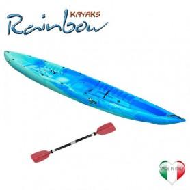 Kayak 2/3 posti Rainbow ORCA BASE + pagaia