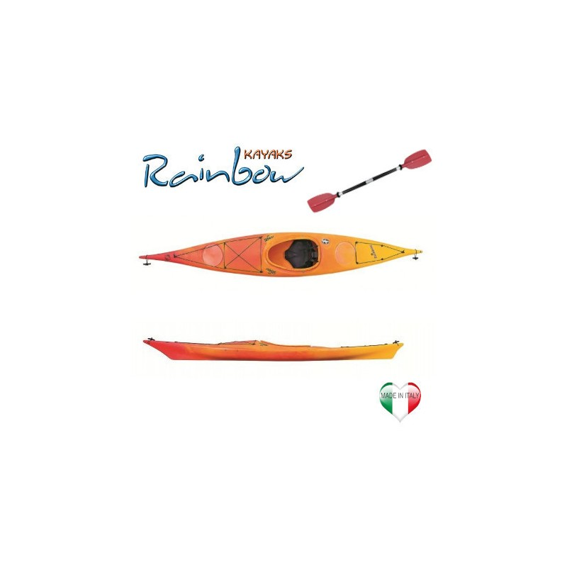 Kayak mare Rainbow OASIS 4.25 BASE + pagaia