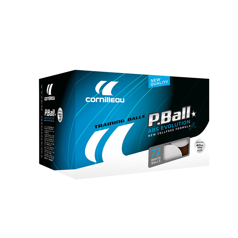 Palline ping pong ABS evolution 1* 72 pz