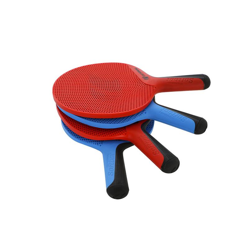 Kit 4 Racchette + 4 palline ping pong Soft Bat Cornilleau da esterno