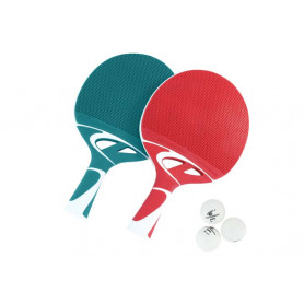 Kit 2 Racchette ping pong Tacteo duo pack Cornilleau da esterno