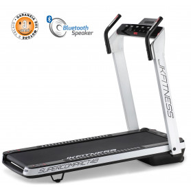 Tapis Roulant JK Fitness SUPERCOMPACT48 White