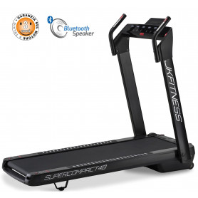 Tapis Roulant JK Fitness SUPERCOMPACT48 Black