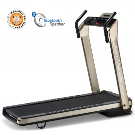 Tapis Roulant JK Fitness SUPERCOMPACT48 Oro
