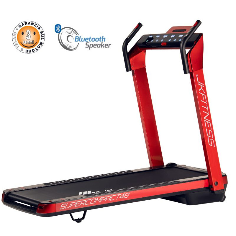 Tapis Roulant JK Fitness SUPERCOMPACT48 Red