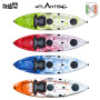 Kayak-canoa Atlantis SHARK  EVOLUTION cm 280 - 2 gavoni - seggiolino - pagaia - portacanna