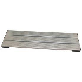 Pedana poggiapiedi in alluminio 1 mt
