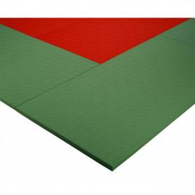 Tatami judo a norma I.J.F. densità 250 kg/mc f.do antiscivolo 200x100x4 cm