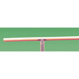 Sbarra per danza in legno ø 43 mm. lunghezza 2 metri