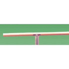 Sbarra per danza in legno ø 43 mm. lunghezza 3 metri