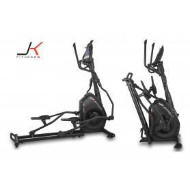 Ellittica JK Fitness JK 428 - peso volano 18 kg - elettromagnetica