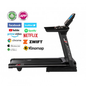 Tapis roulant JK Fitness JK 177 - compatibile ZWIFT e KINOMAP
