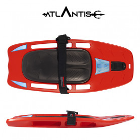 Kneeboard- tavola acquatica  Atlantis FLAAP rosso
