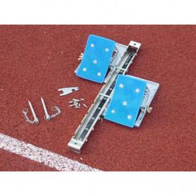 Blocco partenza da competizione, blocchi alluminio