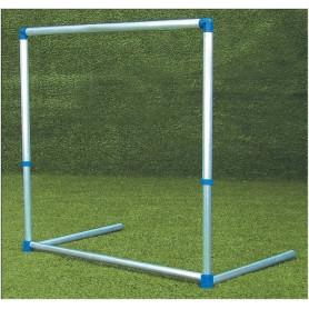 Ostacolo in alluminio, altezza regolabile da 60 a 100 cm.