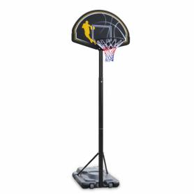 BASKETBALL A COLONNA , TRASPORTABILE regolazione manuale altezza