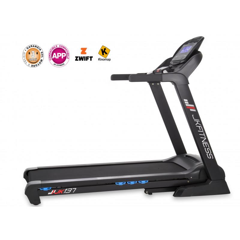 Tapis roulant JK Fitness JK 137 - compatibile ZWIFT e KINOMAP