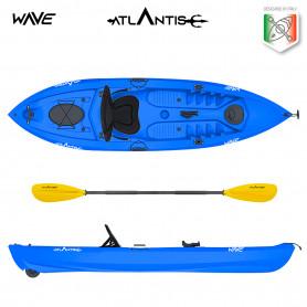 Kayak-canoa Atlantis WAVE EVOLUTION blu cm 305 - 2 gavoni -