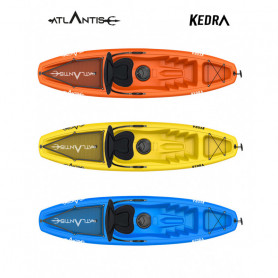 Kayak-canoa Atlantis KEDRA EVOLUTION cm 268 - seggiolino - gavone - ruotino - pagaia