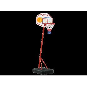 Tabellone Basket Phoenix (colonna base zavorrabile)  H. 165 cm. + palla e pompa