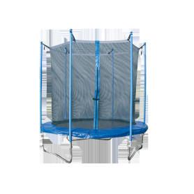 Trampolino per esterno COMBI M per esterno, rete di protezione inclusa Ø 244 cm.