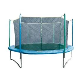 Trampolino per esterno COMBI XL per esterno, rete di protezione inclusa Ø 366 cm.