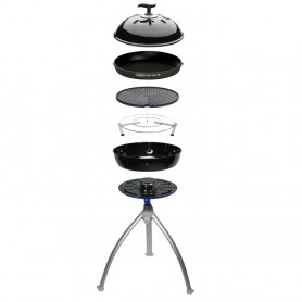 Barbeque a gas Cadac Grillo Chef BBQ GRID/Chef pan combo