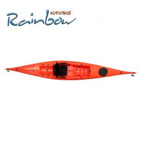 Kayak Rainbow VULCANO 4.25 EXPEDITION COLORE ICE con pagaia (pronta consegna)