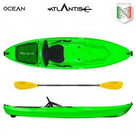 Kayak - canoa Atlantis OCEAN EVOLUTION verde lime cm 266 -