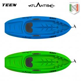 Kayak - canoa Atlantis bambino TEEN - cm 182 con pagaia (nei