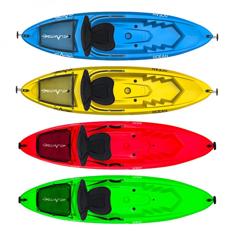 Kayak - canoa Atlantis OCEAN EVOLUTION - cm 266 - schienalino -