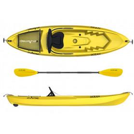 Kayak - canoa Atlantis OCEAN EVOLUTION gialla cm 266 -