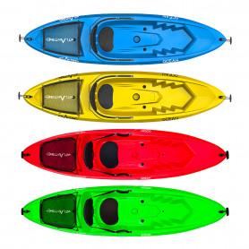 Kayak - canoa Atlantis OCEAN - cm 266 - schienalino - ruotino -