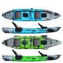 Kayak-canoa Atlantis COSMIC KARP cm 390 - 2 gavoni - 2