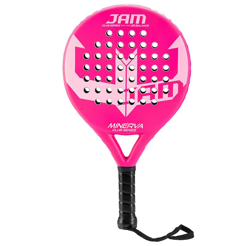 Racchetta Jam Minerva - rosa opaco