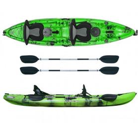 Kayak - canoa 2 posti Atlantis ENTERPRISE EVOLUTION cm 385