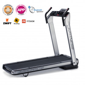 Tapis Roulant JK Fitness SUPERCOMPACT48 Silver 2021 compatibile