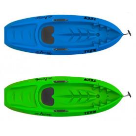 Kayak - canoa Atlantis bambino TEEN - cm 182 con pagaia