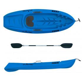 Kayak canoa Atlantis bambino TEEN blu cm 182 con pagaia