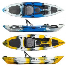 Kayak-canoa Atlantis FURY - cm 306 - seggiolino - 3 gavoni -